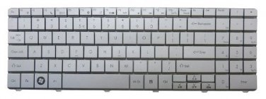 New US Layout Silver Keyboard for Gateway NV5478u NV56 NV5602u NV5606u NV5610u NV5613u