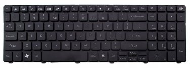 Laptop replacement keyboard for Packard Bell NEW90 NEW95 P5WS6 PEW71 PEW72 PEW76 PEW91