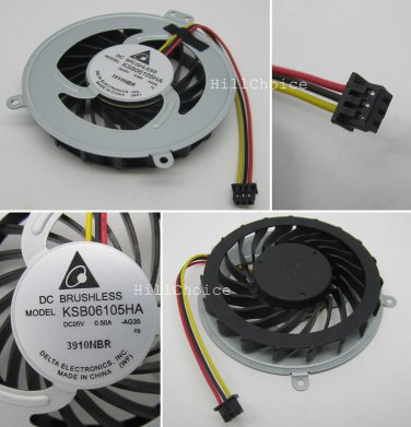 New CPU Fan For Lenovo SL410 SL410K SL510 SL510K E40 E50 Laptop (3-PIN) KSB06105HA AG35
