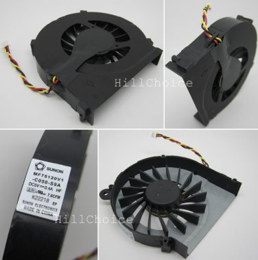 New CPU Fan For HP Compaq Presario CQ42 G42 CQ72 Laptop (3-PIN) MF75120V1-C050-S9A KSB06105HA