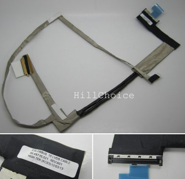 New LCD Screen Video Cable For HP Pavilion DV6-7000 DV6-7014NR  series Laptop P/N: 50.4ST15.021