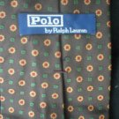 Ralph Lauren Polo Men's Brown Silk Tie