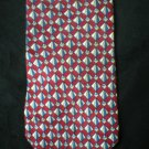 Monterey Bay Men's Red Print Silk Tie