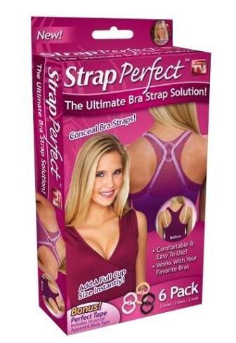 Strap Perfect Bra Strap Solution Kit 6 Pack