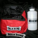 Milk Bone Portable Dog Bowl & Water Jug Set NWT
