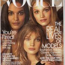Vogue Magazine May 2009 Liya Kebede Natalia Vodianova & Lara Stone NEW