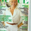 Vogue Magazine June 2009 Cameron Diaz NEW