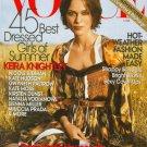 Vogue Magazine June 2007 Keira Knightley