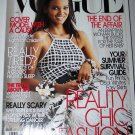 Vogue Magazine May 2005 Liya Kebede