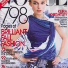 Vogue Magazine September 2008 Keira Knightley  NEW