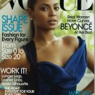 Vogue Magazine April 2009 Beyonce NEW