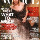 Vogue Magazine April 2001 Renee Zelweger