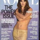 Vogue Magazine March 2001 Penelope Cruz