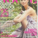 Vogue Magazine August 2009 Christy Turlington NEW