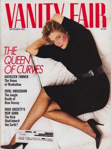 Vanity Fair Magazine September 1986 Kathleen Turner