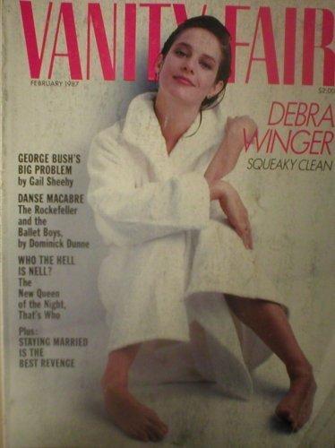 Vanity Fair Magazine February 1987 Debra Winger