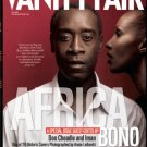 Vanity Fair Magazine July 2007 Don Cheadle & Iman Africa Issue