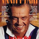Vanity Fair Magazine April 1994 Jack Nicholson