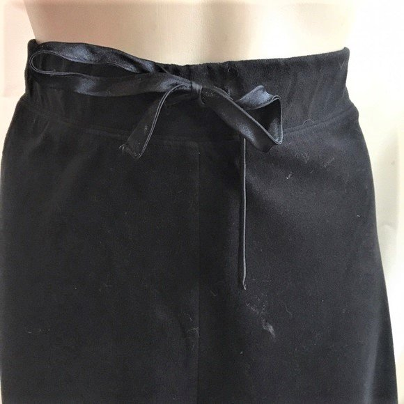 Izod Black zip leg Athletic Sport Pants M