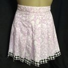 Prince Lavender & White Pleated Print Tennis Skirt 6