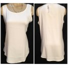 Ann Taylor Ivory Basic Tank Top M NEW NWT