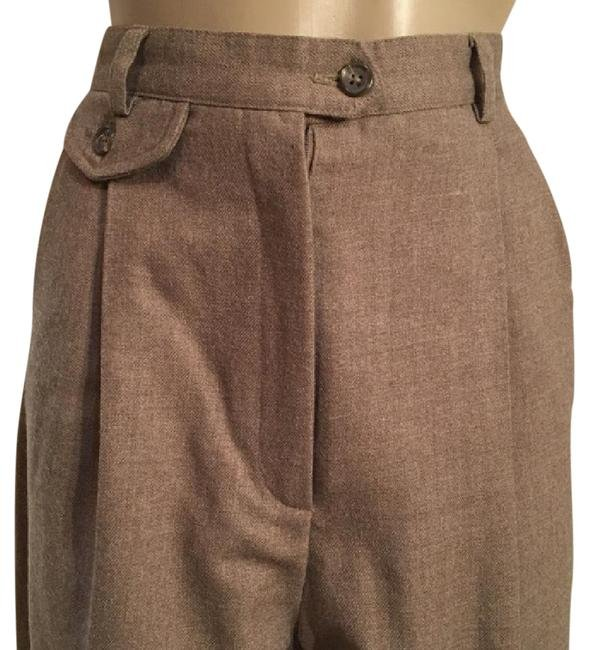 Ann Taylor Taupe Career Pants 2 2P