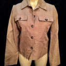 Banana Republic Brown Button Front Blazer Jacket XS NWT