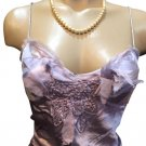 Max Studio Lavender Silk Camisole Top M NWT