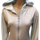 Nike Powder Blue Zip Front Athletic Sport Hoodie Jacket L