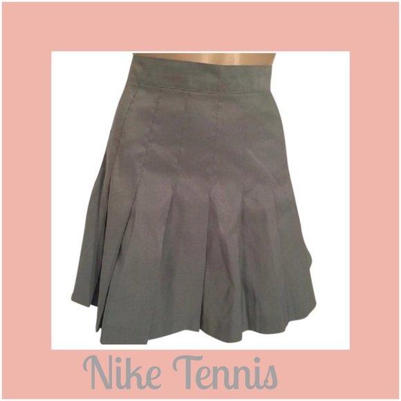 Nike Gray Tennis Skirt M