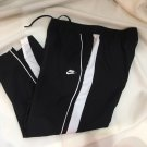 Nike Black & White Athletic Sport Pants XL
