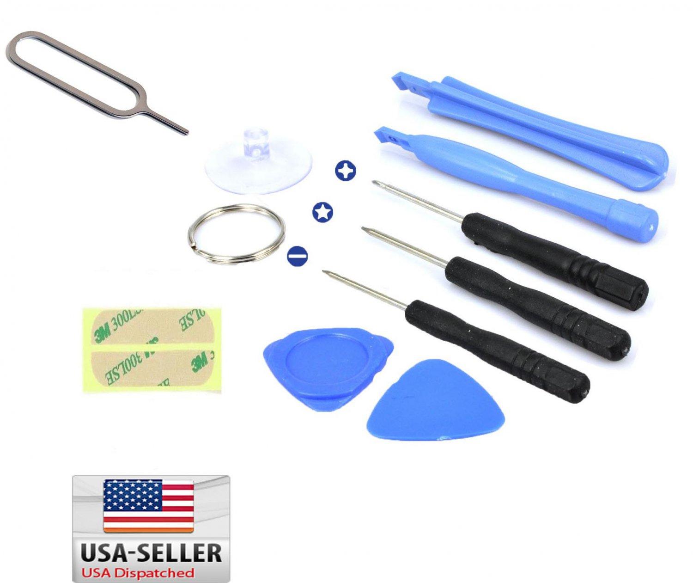 10 in 1 opening pry repair pentalobe screwdriver tools kit set for iphone 5 5c 5s. Black Bedroom Furniture Sets. Home Design Ideas