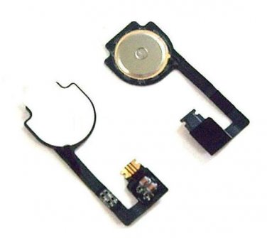 New Home Button Key Repair Part Flex Ribbon Cable Replacement For iPhone 4 4G