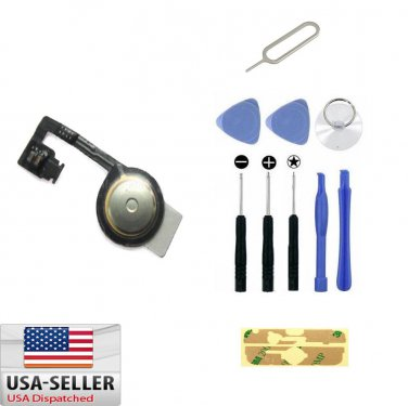 Home Button Key Repair Flex Ribbon Cable Replacement For iPhone 4 4G /w 10 Tools