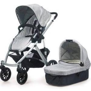UPPAbaby 0056-MCA Mica Vista Stroller - Silver