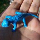 Multiple Plastics Corporation (MPC) 1960s Cynognathus Blue; Prehistoric Reptile