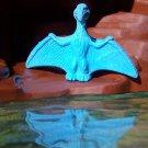 Wheeto's Pteranodon 1990s Prehistoric Reptile Cereal Premium Recast, Blue