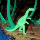 Multiple Plastics Corporation (MPC) 1960s Plateosaurus Green;  Dinosaur