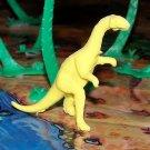Multiple Plastics Corporation (MPC) Post-1970s Recast Plateosaurus Yellow;  Dinosaur