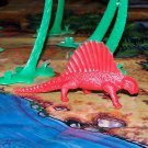 Multiple Plastics Corporation (MPC) 1960s Dimetrodon Red; Prehistoric Reptile