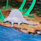 Multiple Plastics Corporation (MPC) Post-1970s Recast Dimetrodon Gray; Prehistoric Reptile