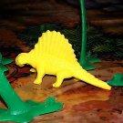 Multiple Plastics Corporation (MPC) Post-1970s Recast Dimetrodon Yellow; Prehistoric Reptile
