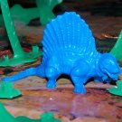 Ajax/Tootsietoy Dimetrodon Prehistoric Reptile, Blue