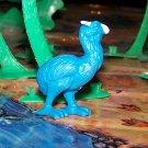 Prehistoric Diatryma-type Bird, Panosh #41, 1987, Blue