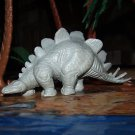 Marx 1971 Type III Stegosaurus Dinosaur, Waxy Light Gray