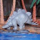 Marx 1950s-1964 Type I Stegosaurus Dinosaur, Dark Gray