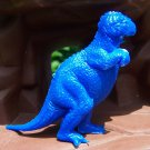 Marx Post-1970s Allosaurus Type I Dinosaur, Dark Blue