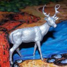 Marx 'Robin Hood' Stag North American Wild Animals Series, Silver-colored Recast