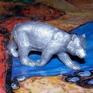 Marx Bear, North American Wild Animals Series, Silver-colored, Recast