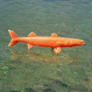 MPC Sea Creatures: Barracuda in Cereal Premium Orange (Probable Recast)